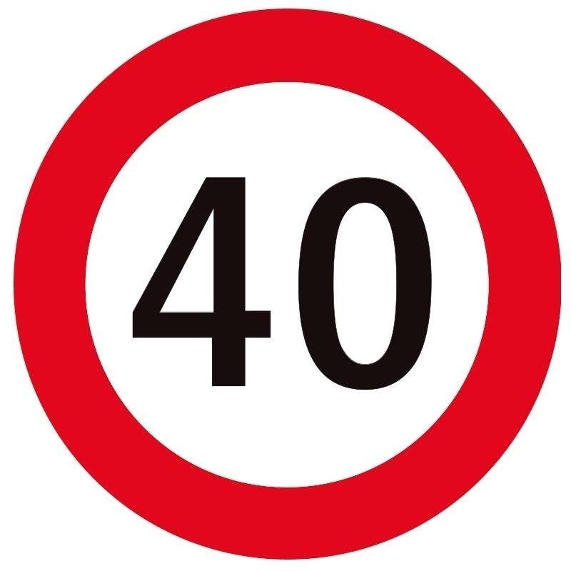 40 jaar lid - 2019