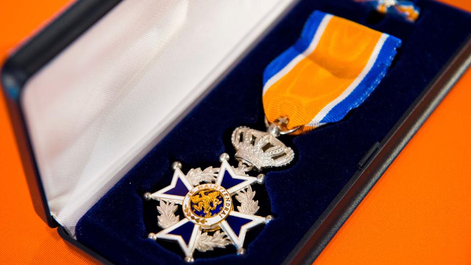 Giel Houben, Lid in de orde van Oranje Nassau