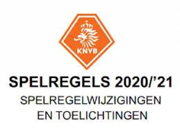Nieuwe spelregels 2020 - 2021