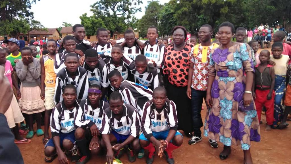 S.V. Roggel shirts in Malawi